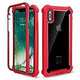 HHF Téléphone Portable Accessoires pour iPhone 12/12 Pro Max, Pare-Chocs Anti-Choc Transparent...