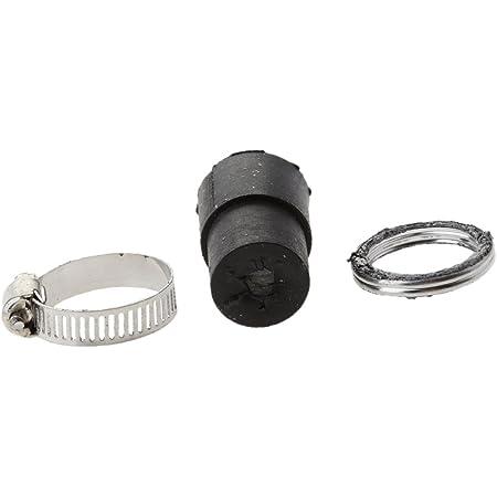 Dolity Motorcycle Motor Metal Exhaust Muffler Pipe for Yamaha PW80