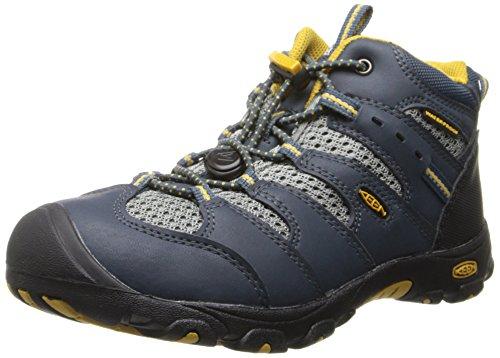 Keen Keen KOVEN MID WP C Unisex-Kinder Trekking- & Wanderstiefel, Blau, 25