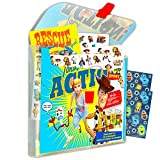 Disney Pixar Toy Story Sticker Activity Travel Case Bundle Pack -- 200+ Toy Story 4 Stickers and Activity Book Featuring Woody, Bo Peep, Forky, and More with Robot Toy Stickers (Toy Story 4 Party Supplies)