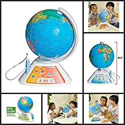 Kids Learning Globes - Oregon Scientific Smart Globe