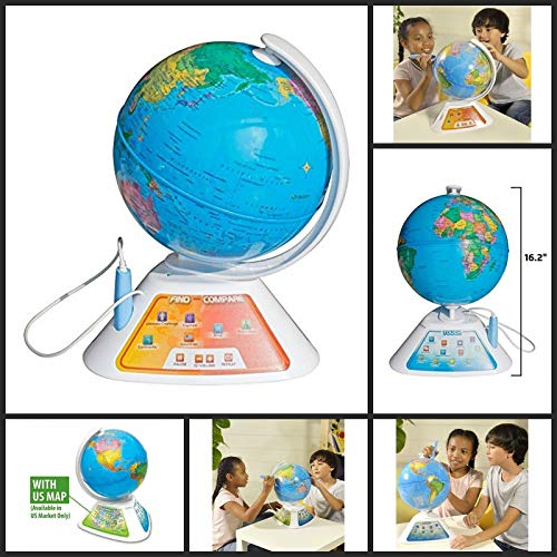 Oregon Scientific Smart Globe Discovery Educational World...