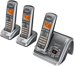 Uniden DECT2080-3 DECT 6.0 Cordless Digital Answering System with Caller ID and 2 Extra Handsets and Charging Cradles