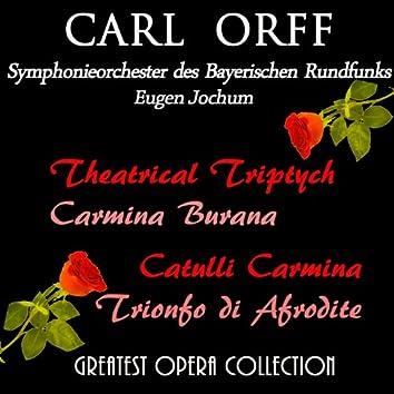 Carl Orff: Carmina Burama, Catulli Carmina, Trionfo di Afrodite