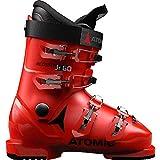 Atomic Redster Jr 60 Unisex Kinder Skischuhe, Rot - Rot/Schwarz - Größe: 39 EU
