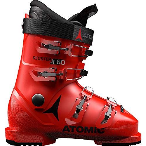 Atomic Redster Jr 60 Unisex Kinder Skischuhe, Rot - Rot/Schwarz - Größe: 37.5 EU