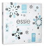 Essie Calendario de Adviento Esmalte de uñas 2019 Mujeres – 24 sorpresas de alta calidad, colores de esmalte de uñas modernos, cuidado y accesorios, calendario limitado.