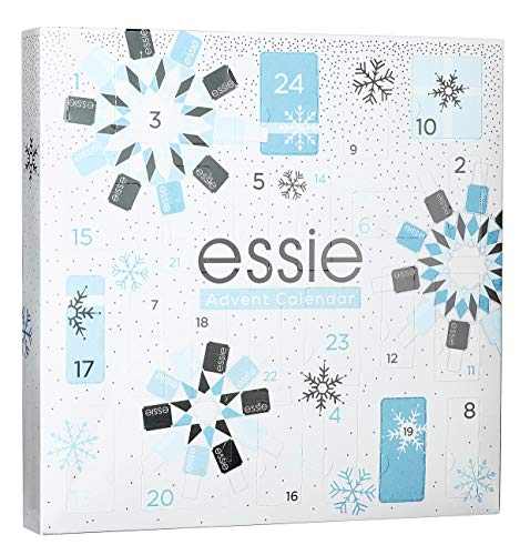 Essie Calendario dell'Avvento, Cofanetto Idea Regalo Donna con 24...