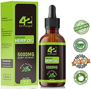 cured hemp oil mint