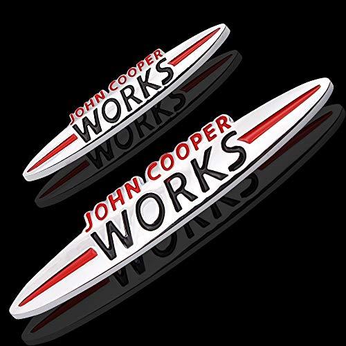 Autoaufkleber 3D-Metall-Auto-hintere Stamm-Abzeichen seitlicher Aufkleber hinten Emblem Letters Aufkleber (Color Name : Big)