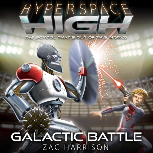 Galactic Battle audiobook cover art