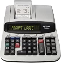 $86 » Victor Technology PL8000 Thermal Printing Calculator, Prompt Logic, Help Key, 8.0 Lines Per Second