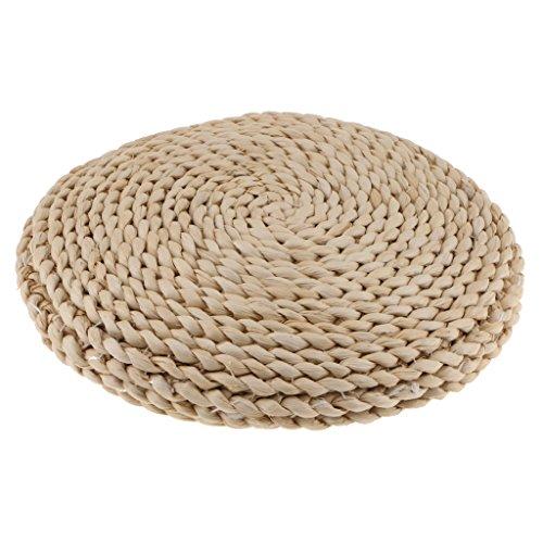 Ecomspace Japanese Style Handmade Straw Woven Seat Cushion Tatami Dia. 30cm (11.81')