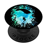 Paracaídas Blue Skies Paragliders Design PopSockets PopGrip: Agarre intercambiable para Teléfonos y Tabletas