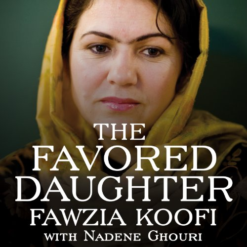 The Favored Daughter audiobook cover art