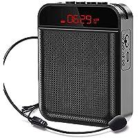 AMERFIST Voice Amplifier Portable Bluetooth 4000mAh Rechargeable Speaker