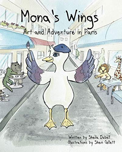 Mona's Wings: Art and Adventure in Paris