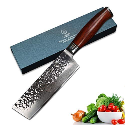 YARENH Cuchillos de Cocina Verdura 17cm - Cuchillo de Cocina...