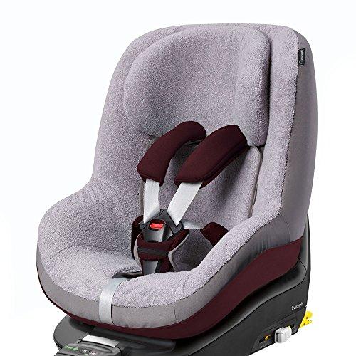 4. Bébé Confort Pearl - Funda de verano, grupo 1, color Cool Grey