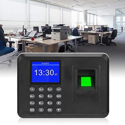 Sistema de Registro de Tiempo con Control de Acceso por Huellas Dactilares, para Capacidad de 1000 Huellas(European regulations)