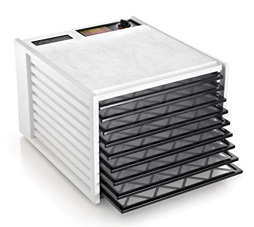Excalibur Electric Food Dehydrator, 9-Tray, White