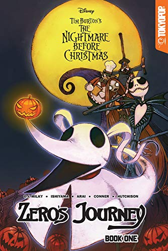 Disney Manga: Tim Burton's The Nightmare Before Christmas -- Zero's Journey Graphic Novel Book 1 (official full-color graphic novel, collects single ... #0 - #5) (1) (Zero's Journey GN series)