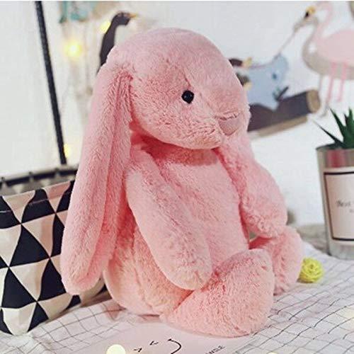 NMJHG Stitch Plush Toys For Children Bunny Sleeping Mate Stuffed Plush Animal For Baby 30cm Cute Easter Rabbit Doll PK