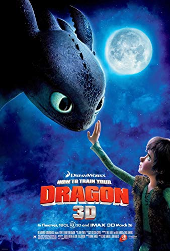 Christ-EZ How to Train Your Dragon Wall Movie Poster - Matte poster Frameless Gift 11 x 17 inch(28cm x 43cm)