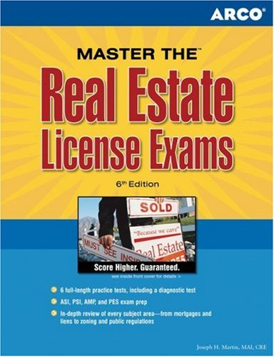 Arco Master the Real Estate License Exams (REAL ESTATE LICENSE EXAMINATIONS)