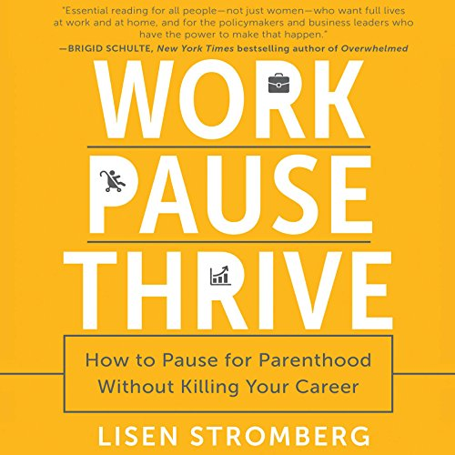 Work PAUSE Thrive audiobook cover art