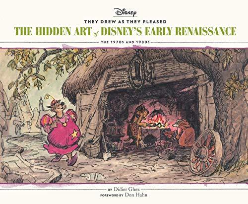 Hidden Art Of Disney Early Renaissance