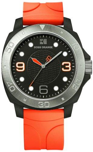Boss Orange 1512665 - Orologio da polso da uomo, analogico, in silicone