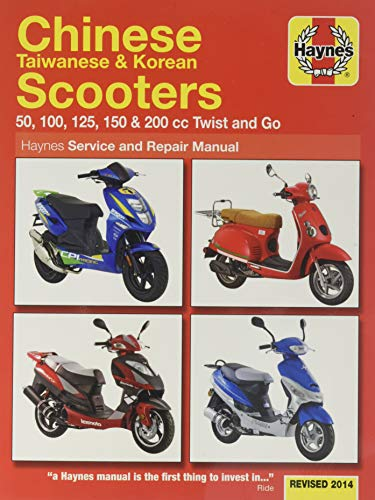 Haynes Chinese Scooters Auto Onderhoud Motorfiets Service Reparatie Ma HAYNES M.