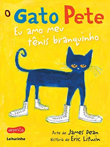 O gato Pete - eu amo meu tênis branquinho