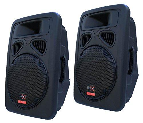 E-Lektron JP30 DJ PA Lautsprecher Boxen Paar Passiv 30CM/12 Basslautsprecher