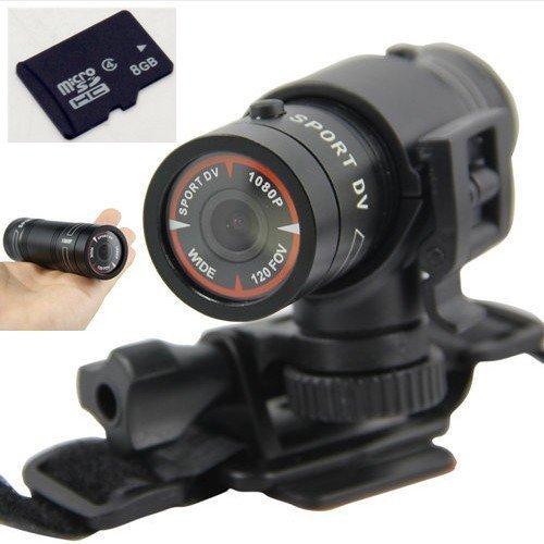 8gb Full Hd 1080p Mini Waterproof Sports DVR Cam Outdoor Action Camera Dv 60fps (O0504)