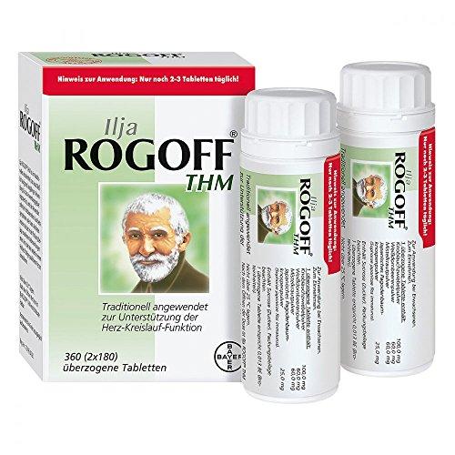 ILJA ROGOFF THM überzogene Tabletten 360 St Überzogene Tabletten