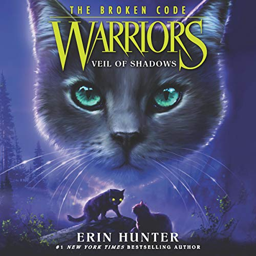 Warriors: The Broken Code #3: Veil of Shadows audiobook cover art