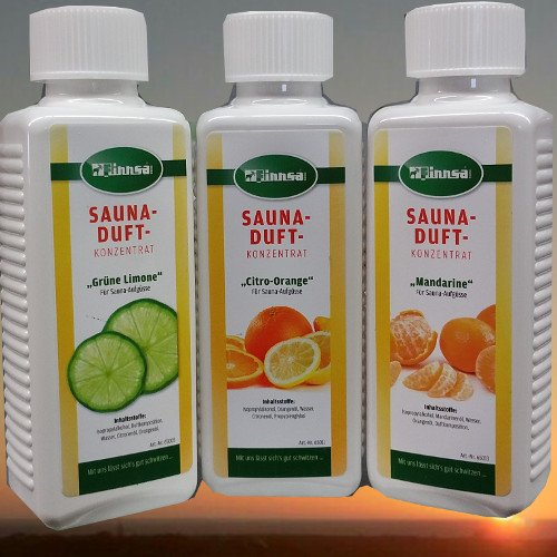 Finnsa Fruchtige Entspannung - Grüne Limone + Citro Orange - Mandarine (3 x 250 ml)