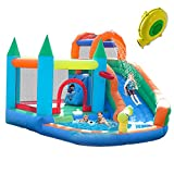 Best Inflatable Water Slides - ALIFUN Inflatable Water Slide Park Bounce House Kid Review