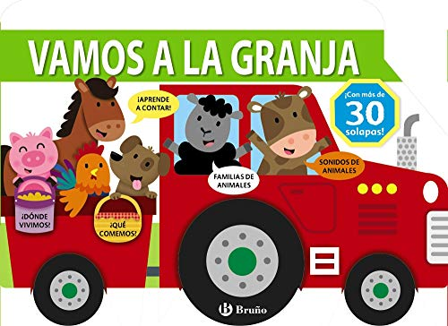 Vamos a la granja (Castellano - A PARTIR DE 0 AÑOS - PROYECTO DE 0 A 3 AÑOS - Libros manipulativos)
