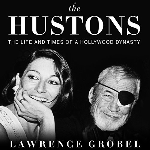The Hustons audiobook cover art
