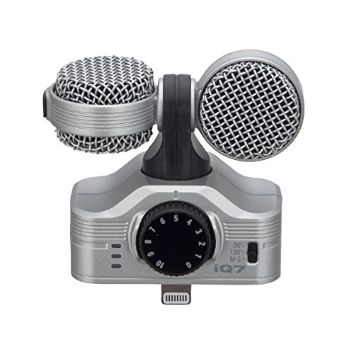 Zoom - iQ7/IFS - microfono stereo mid/side per iPhone5/iPod touch/iPad mini