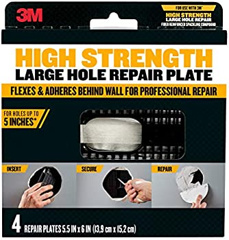 4-Pack 3M High Strength Large Hole Repair Plate