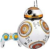 Envío de la Gota 17cm RC 2.4G BB-8 Robot Upgrade Control Remoto BB8 Robot Inteligente con Sonido RC Ball cumpleaños para niños