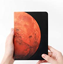 AstroReality Mars AR Notebook | Embossed Hardcover Writing Journal, Travel Diary | Augmented Reality Enabled, Interactive Notebook | 7x5 Inches, 176 Pages | Perfect Space Gifts