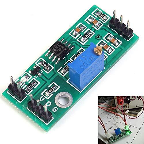 Módulo de alto voltaje comparador, 4,5 – 28 V LM393 señal Waveform ajustable de alto nivel/carga de doble canal