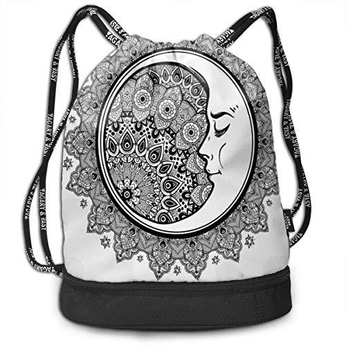 werert - Bolsa de Deporte con cordón para natación, diseño de Mandala étnico