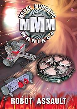 DVD Metal Munching Maniacs: Robot Assault Book