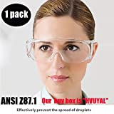 Protective Safety Goggle Medical - Anti-Fog Goggles...